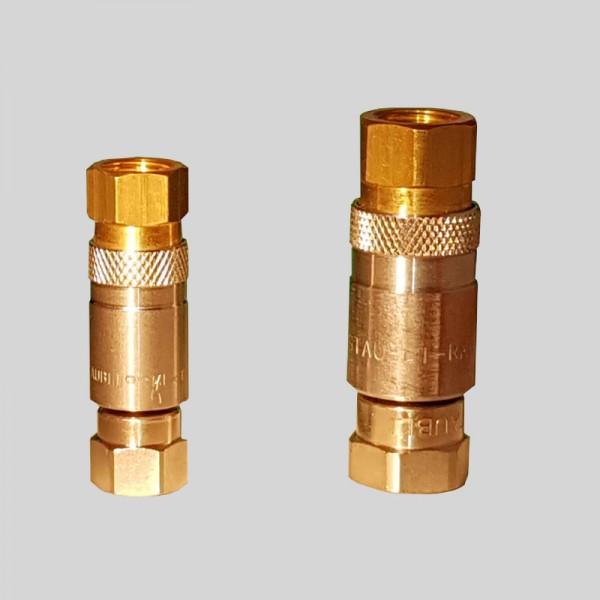 Schnellverschluss Druckluft-Kupplung mit Viton